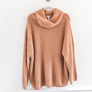 Nordstrom Leith Oversized Turtleneck Sweater